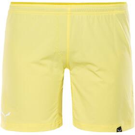 Salewa Pedroc DST Spodnie krótkie Kobiety żółty